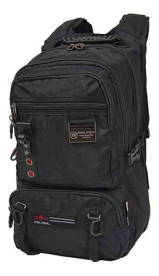 Morral Airliner Ideal Laptop17 Confort Pc Backpack Mochila