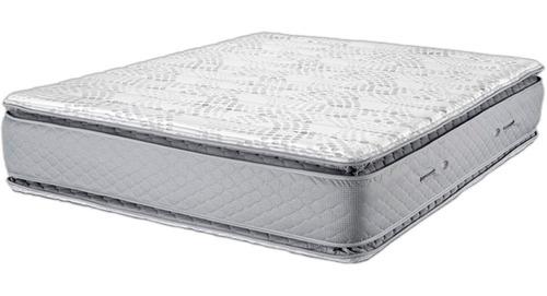 Colchon Piero Montreaux Pillow Top 200 X 160 Resortes Pocket