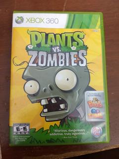 Plantas Vs Zombies. 2 Juegos Xbox 360 Originales