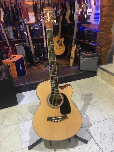Guitarra Electroacustica Shelter Lf4023ceq