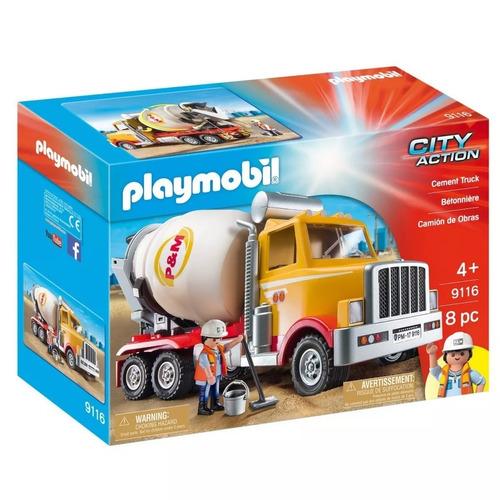 Camion Cementero Playmobil City Action C/ Accesorios - 9116