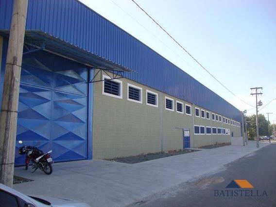 Barracão Comercial Para Locação, Jardim Olga Veroni, Limeira - Ba0022. - Ba0022