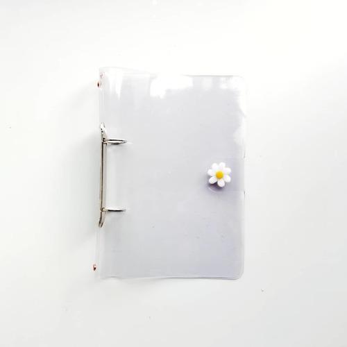 Carpeta Transparente A5 / Transparent Binder - 2 Anillas
