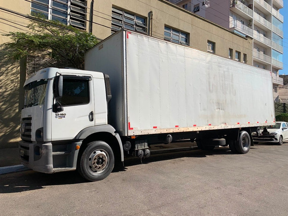 Caminhão Vw Costellation 13.180 Baú, Ano 2009 Modelo 2010