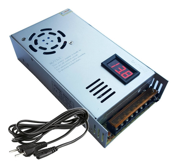 Fonte Chaveada 13,8 V 50 Amperes Serve P/ Px Câmeras