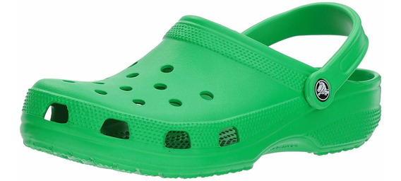 Crocs Classic Mule Grass Green Para Mujer - 16 Us Men / 18