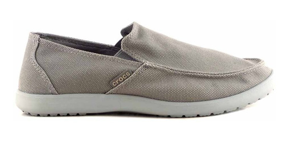 Alpargata Hombre Crocs Tela Goma Confort Mocasin Hcal00723 2