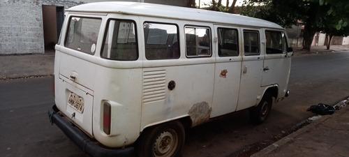 Vw Kombi 1990  Lata Boa Dock Ok