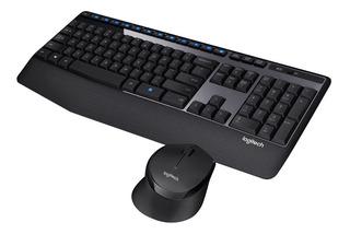 Teclado Y Mouse Combo Inalambrico Logitech Mk345 / Mk-345