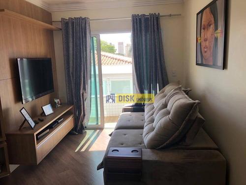 Imagem 1 de 16 de Apartamento Com 3 Dormitórios À Venda, 74 M² Por R$ 450.000 - Rudge Ramos - São Bernardo Do Campo/sp - Ap2451