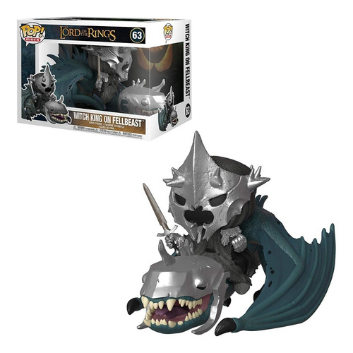 Funko Pop Rides Lord Of The Rings Witch King With Fellbeast