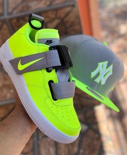 Tenis Nike Air Force One [croki Croqui Crockeer] Verde 2020