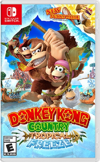 Donkey Kong Country Tropical Freeze Switch Pronta Entrega