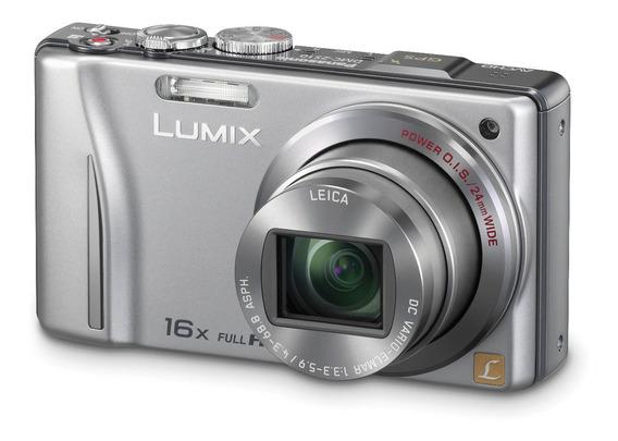 Câmera Digital Panasonic Lumix Dmc-zs10 Lente Leica Gps 14mp