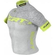Camisa Ert Elite Racing Prata Ciclismo Mtb + Brinde