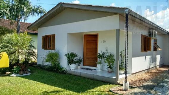 Casa Para Venda Em Nova Hartz, Campo Vicente, 2 Dormitórios, 1 Banheiro, 3 Vagas - Avc001