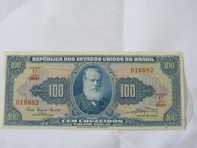 Cédula 100 Cruzeiros 1961