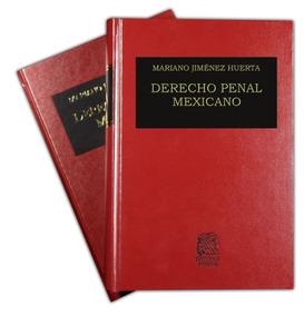 Colección Libros Derecho Penal Mexicano Tomos 1 Al 5 Porrúa