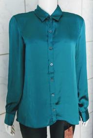 Camisa Social Verde Da Frutacor - Tam: M
