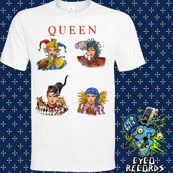 Queen Innuendo 3 - Blanca - Rock - Polera- Cyco Records