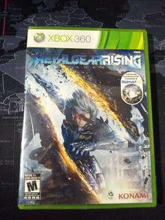 Metal Gear Rising + Ost Para Xbox 360 Y One -sellado-