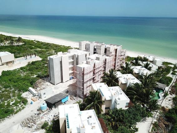 Venta Enorme Departamento Frente Al Mar En San Bruno Yucatan