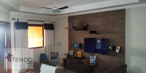 Imagem 1 de 30 de Imob02 - Casa 110 M² - Venda - 2 Dormitórios - Jardim Morada Do Sol - Indaiatuba/sp - Ca0731