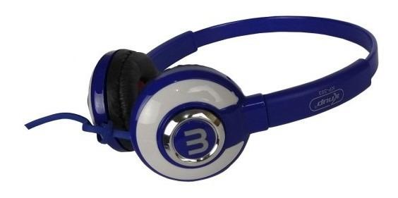 Fone De Ouvido Headphone Kp 393 Azul
