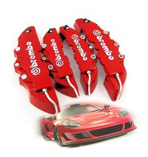 Juego Cubre Caliper Brembo Tuning Auto Full Racing
