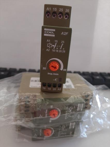 Relé Temporizador Eletrônico Analogico A2f 20-80 220vca Coel
