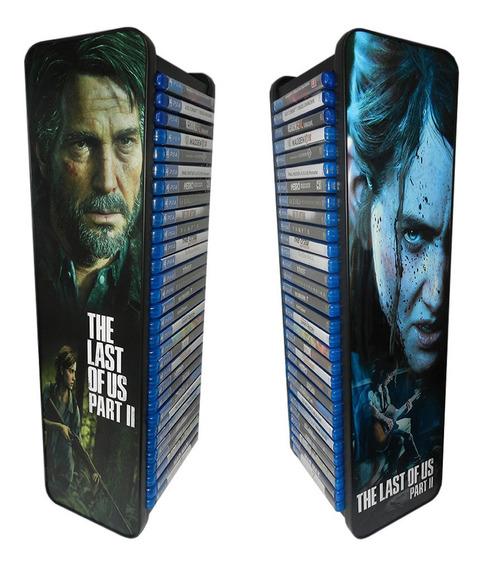 Porta Jogos The Last Of Us Part 2 Capacidade Para 30 Jogos