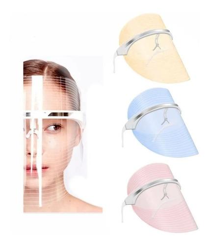 Imagen 1 de 9 de  Mascara Led Facial Tratamiento Confortable Acne Luces Foton