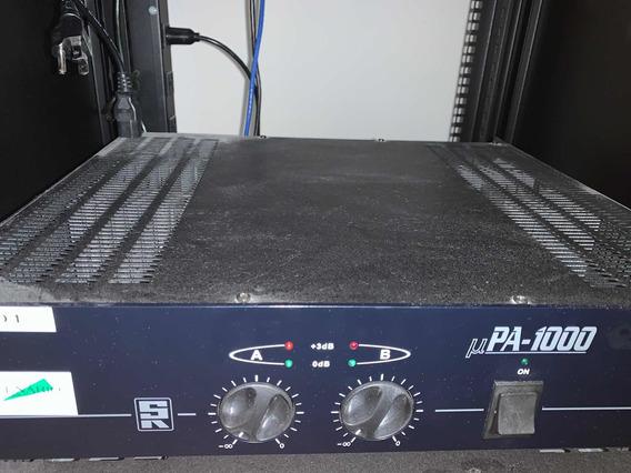 Amplificador Profissional Sr Upa 1000