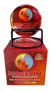 Bola Extintora Automático 1,3kg Abc Com Suporte Mocelin Nfe