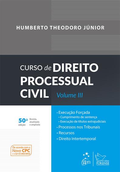 Curso De Direito Processual Civil - Vol. Iii, 50ª Edição