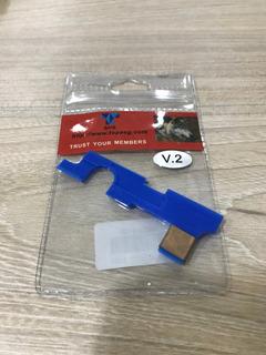 Select Plate Airsoft Shs V2 Placa Seletora Gearbox V2 M4 Aeg
