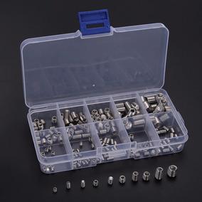 Kit Parafusos M3/m4/m5/m6/m8 Inox Allen Sem Cabeça 200peças