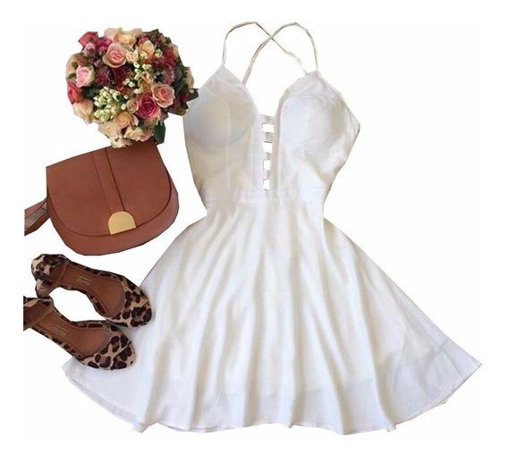 Vestido Feminino Cintura Marcada Princesa Rodado