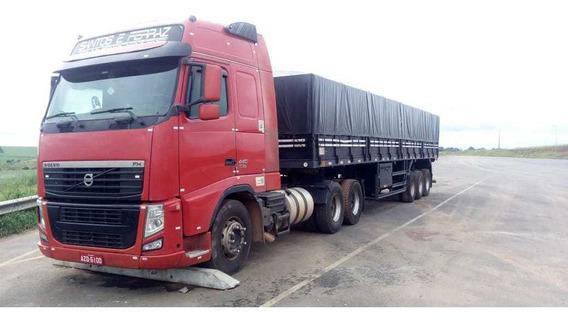 Fh 440 Globetrotter 6x2 Completo + Carreta Guerra 2011