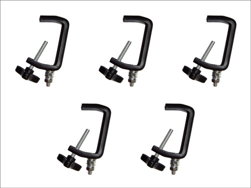 Combo 5 Clamp Para Luces Tipo Chauvet C-clamp Clp-03