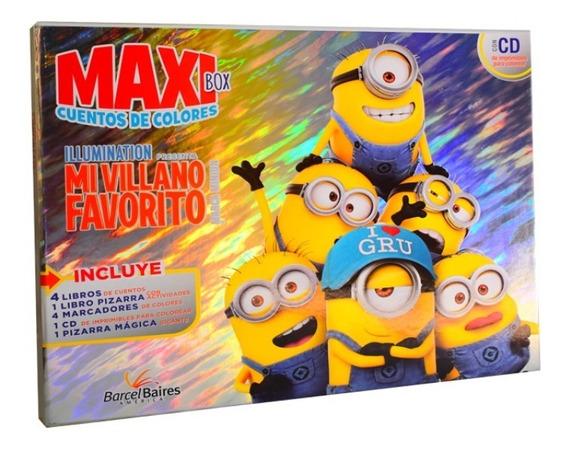 Maxi Cuentos De Colores Mi Villano Favorito