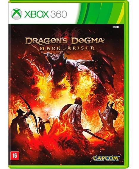 Dragons Dogma Dark Arisen - Xbox 360 - Novo - Mídia Física