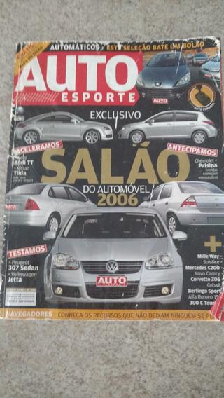 Auto Esporte Agosto 2006 Jetta Fusion 307 Camry Xsara Picaso