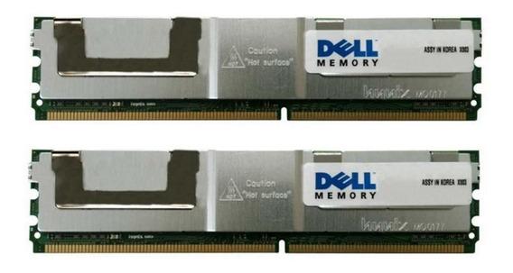 Dell 16gb (2x8gb) Pc2-5300f Pe 1950 2900 2950 Precision