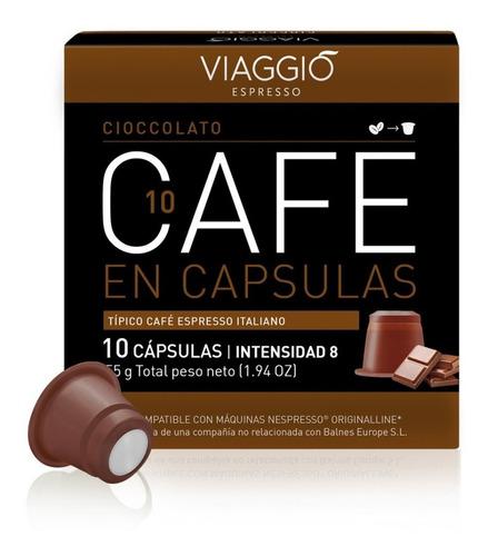 Pack 30 Cápsulas Café Viaggio Cioccolato Para Nespresso®