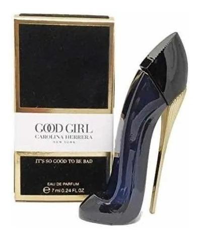 Imagen 1 de 1 de Perfume Miniatura Carolina Herrera Good Girl Edp 7ml