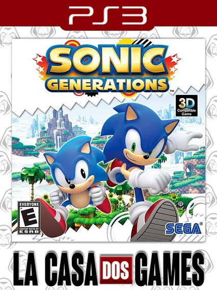 Sonic Generations - Psn Ps3 - Envio Imediato