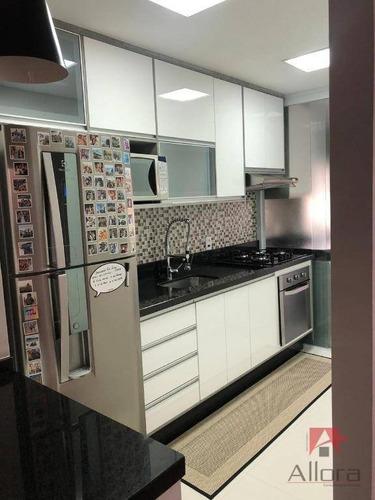 Apartamento À Venda, 55 M² Por R$ 318.000,00 - Residencial Das Ilhas - Bragança Paulista/sp - Ap1057