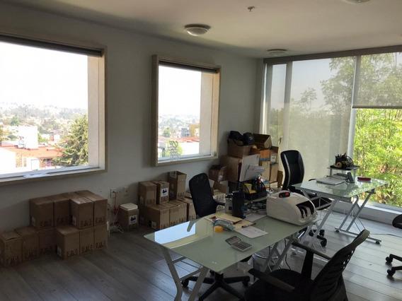 Oficina Amueblada En Renta , Tecamachalco , Centro De Negocios 24m2 , $14500