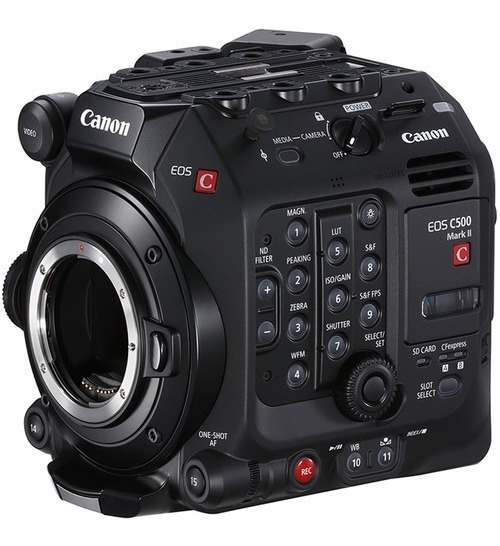 Canon Eos C500 Mark Ii 5.9k Full Frame Camera